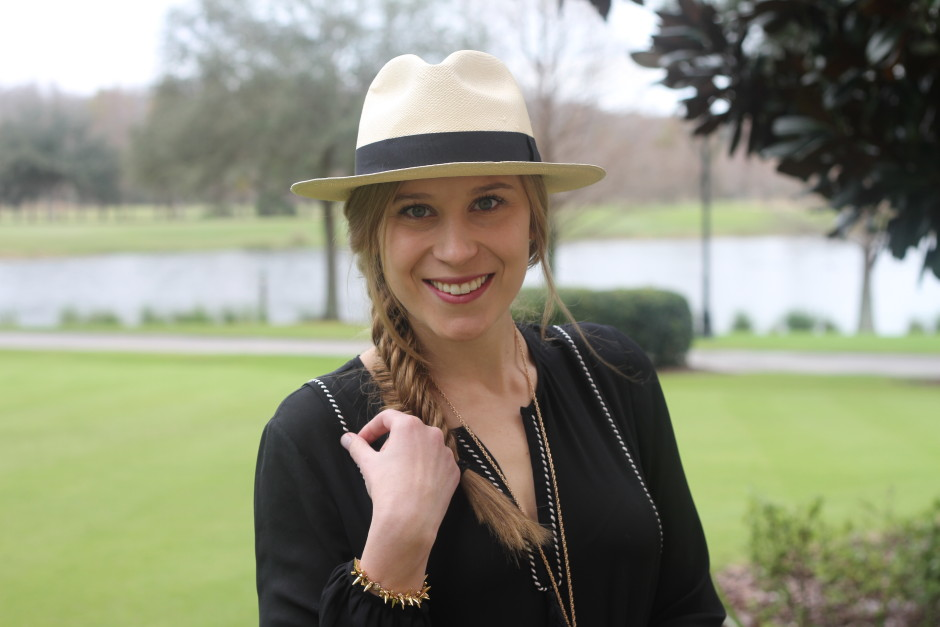 Panama Hats... - Pink and Navy StripesPink and Navy Stripes b475f08b0ba
