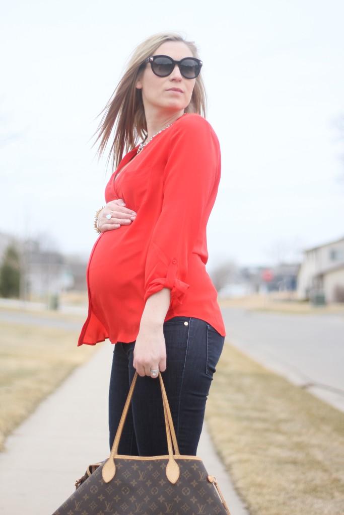 Pregnant Blogger