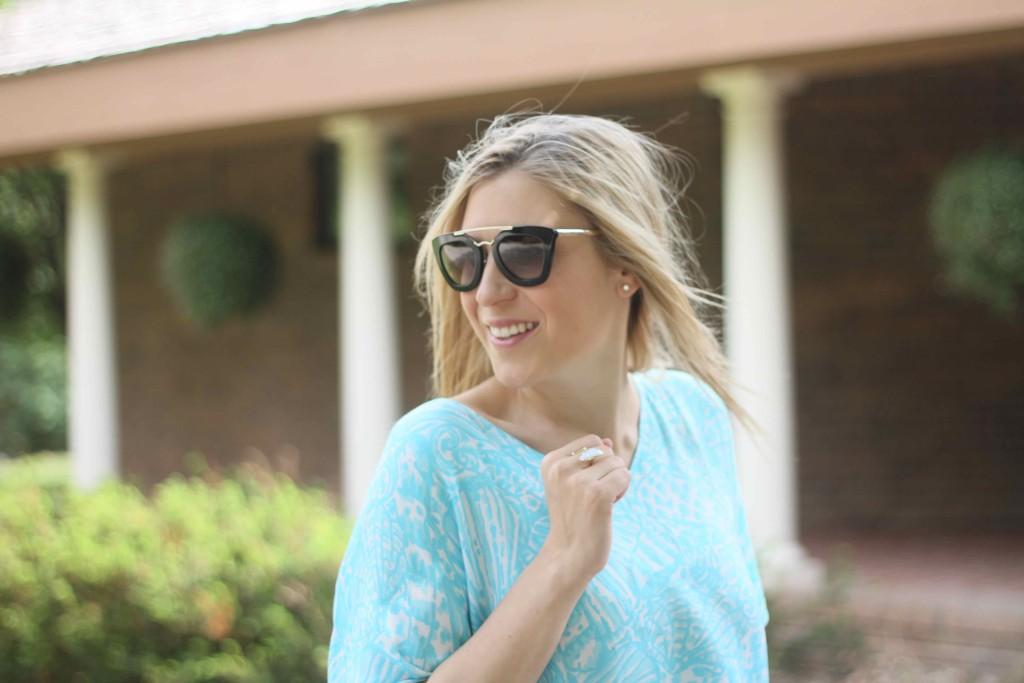 Blonde Hair blogger
