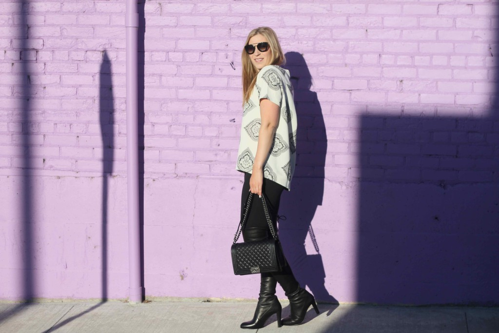 How to wear knee high boots