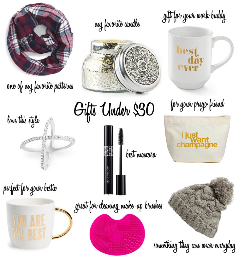Gifts under $30...