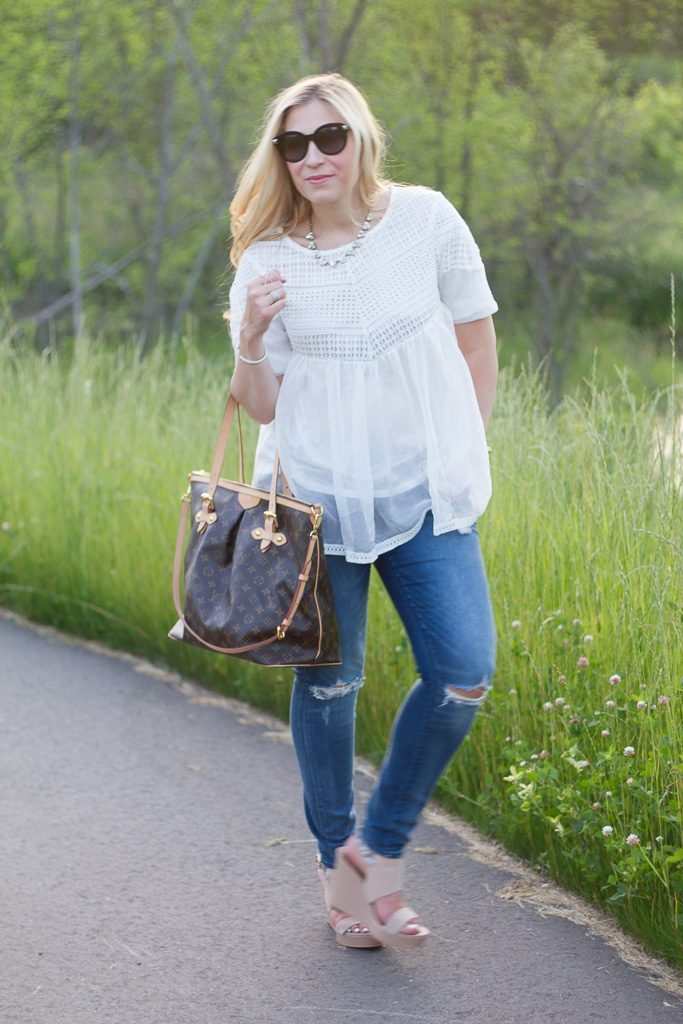 Oh So Sweet Dolly White Top