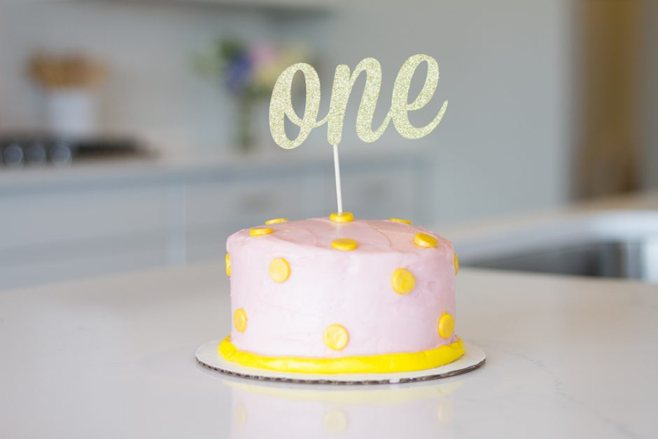 one year old birthday CAke