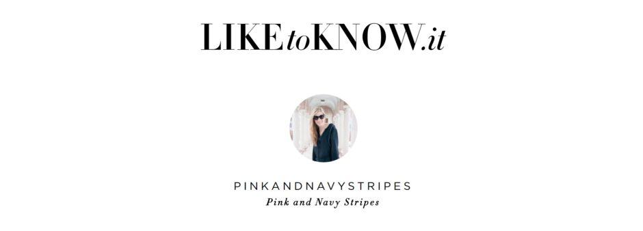 liketoknow.it pinkandnavystripes