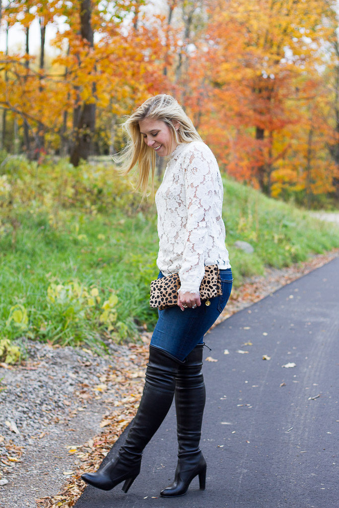 'Highland' Over the Knee Boot