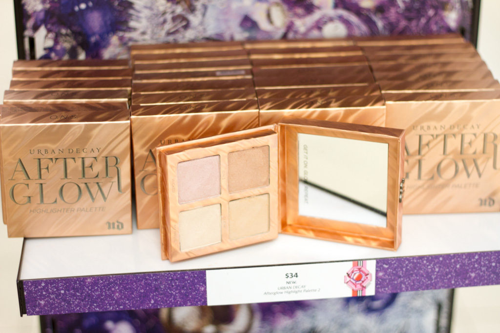 Urban decay after glow palette inside JCPenney story